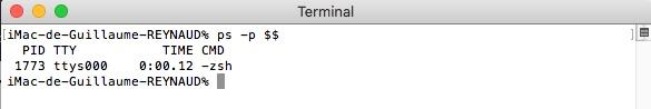 Changer de Shell sous Mac