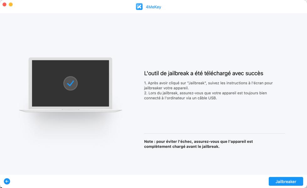 Contourner le verrouillage d'activation iCloud des iPad avec 4MeKey