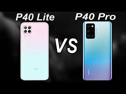 Résumé rapide des différences entre le P40 Lite et le P40 Pro