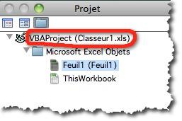 protéger un code VBA sous Excel