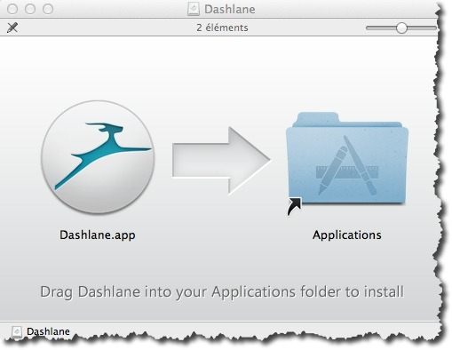 Installation de Dashlane sous MAC OS X