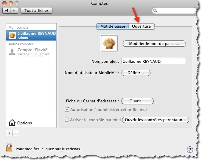 Le meilleur moyen de lancer une application au démarrage d'un MAC