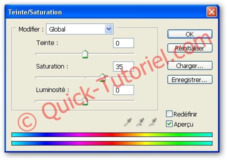 augmenter la saturation d'une image avec Photoshop
