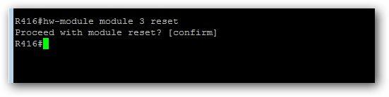 Redémarrer un module de votre chassis Cisco