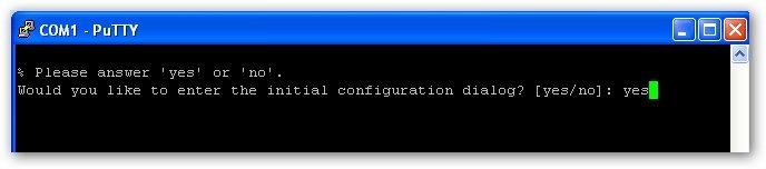configuration usine sur le routeur Cisco