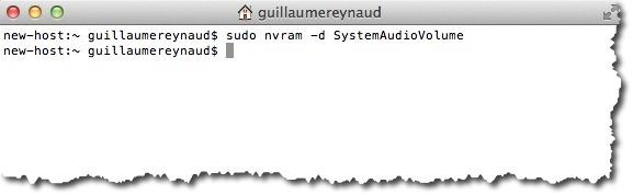 Désactiver totalement le Mac Boot Chime grâce à une commande dans le terminal