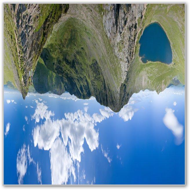 symétrie axe vertical dans Photoshop