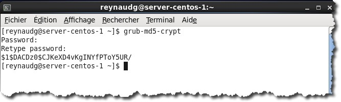 password grub 2 Protéger le menu GRUB de Centos par un mot de passe.
