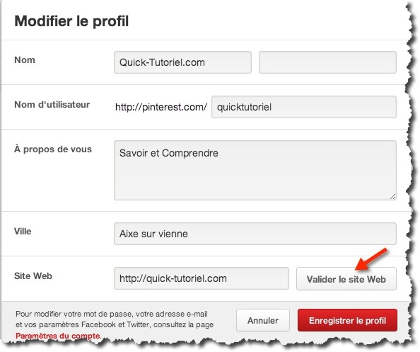 web analytics pinterest 3 Comment utiliser le web analytics de Pinterest.