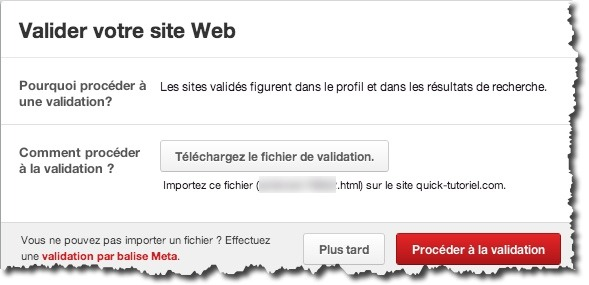 web analytics pinterest 4 Comment utiliser le web analytics de Pinterest.