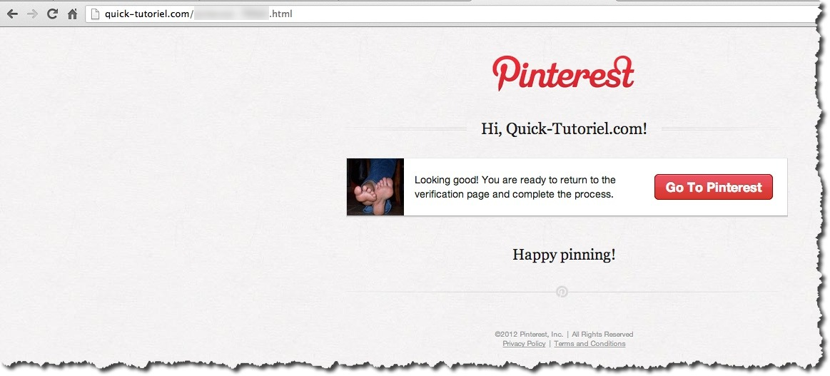 web analytics pinterest 5 Comment utiliser le web analytics de Pinterest.